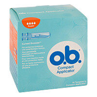 Produktfoto Compact Applicator f.o.b.Tampons super 16er 16St