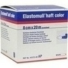 Produktbild ELASTOMULL haft color 8 cmx20 m Fixierb.blau von BSN Medical