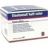 Produktbild ELASTOMULL haft color 6 cmx20 m Fixierb.rot von BSN Medical