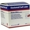 Produktbild ELASTOMULL haft color 8 cmx20 m Fixierb.rot von BSN Medical
