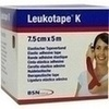 Produktbild LEUKOTAPE K 7,5 cm rot von BSN Medical