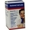 Produktbild ELASTOMULL haft color 8 cmx4 m Fixierb.blau von BSN Medical