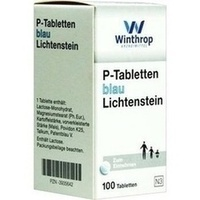 Artikelfoto P Tabletten blau 8 mm Teilk. 100St