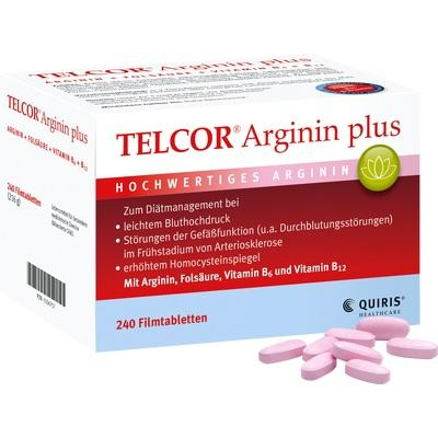 telcor arginin plus filmtabletten shop der apotheke am. Black Bedroom Furniture Sets. Home Design Ideas