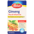 product photo ABTEI Ginseng Plus B-Vitamine Tabletten