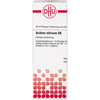 Produktfoto Acidum Nitricum D 6 Dilution 20ml